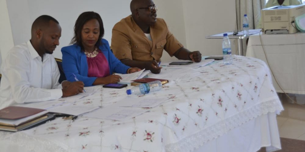 BURUNDI : Conseil communal en commune MUKAZA / BUJUMBURA