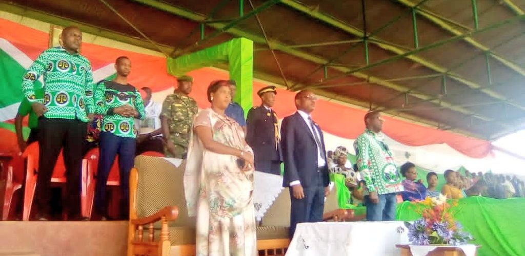 BURUNDI : MURAMVYA – Célébration du 59ème anniversaire de l'indépendance