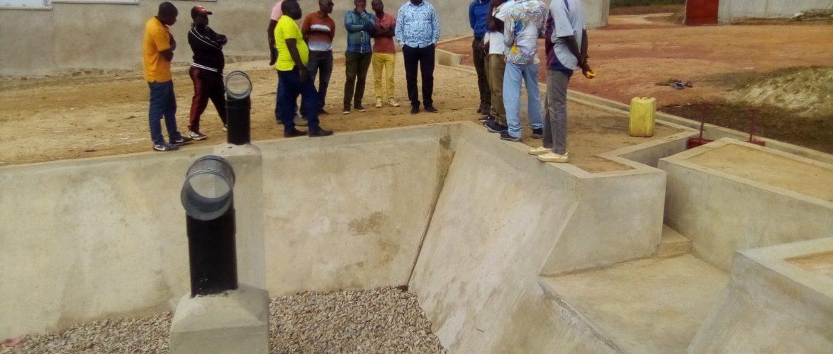 BURUNDI : L' AHAMR a visité le chantier du site d'épuration des eaux / RUYIGI