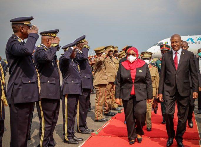BURUNDI / TANZANIE : Visite d'Etat de S.E. SULUHU Samia Hassan