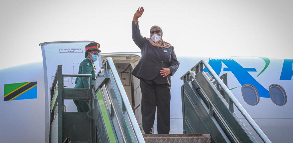 BURUNDI : Fin du voyage de S.E. SULUHU Samia Hassan, Présidente de TANZANIE