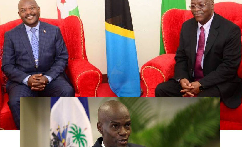 BURUNDI : Assassinat de JOVENEL Moïse – Les BARUNDI attristés par les HAÏTIENS, HAÏTI
