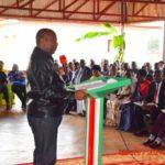 Le Chef de l'Etat invite les burundais à s'impliquer dans le processus de réconciliation nationale