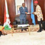 Le Vice-président de la République reçoit en audience l'Ambassdeur du Nigéria au Burundi