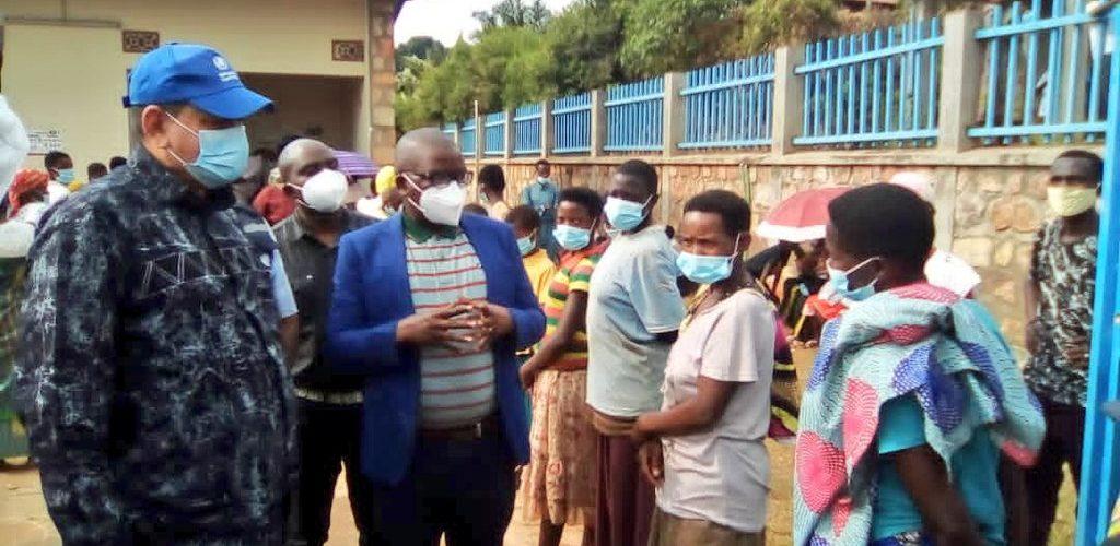 BURUNDI / OMS : Visite des sites de dépistage COVID-19 à KIRUNDO