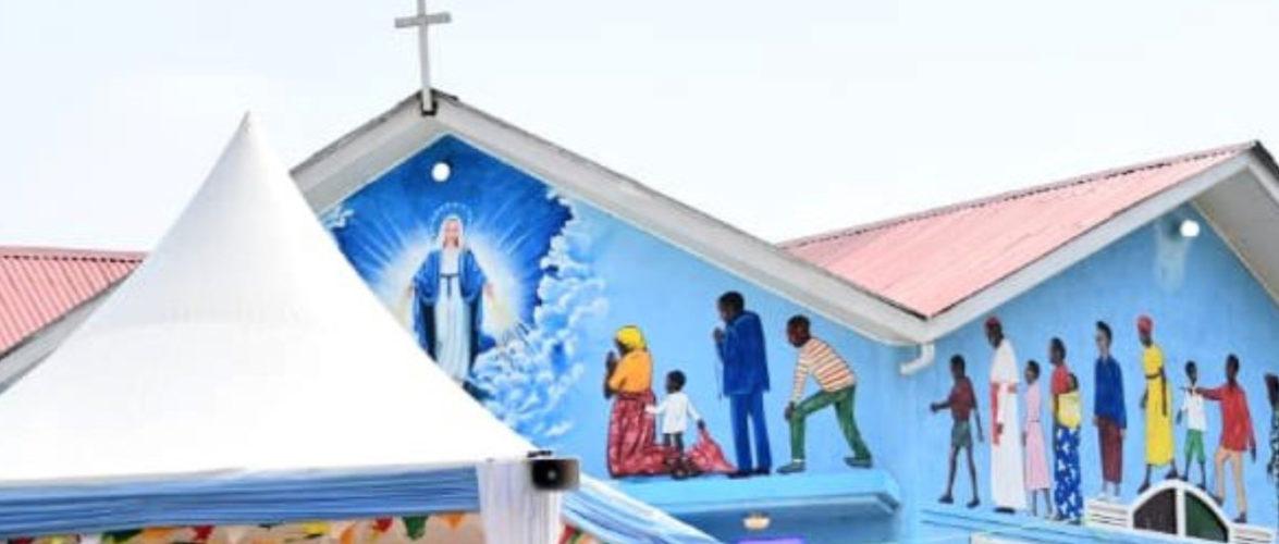BURUNDI : Un sanctuaire neuf de la Sainte Vierge Marie à MAKEBUKO / GITEGA