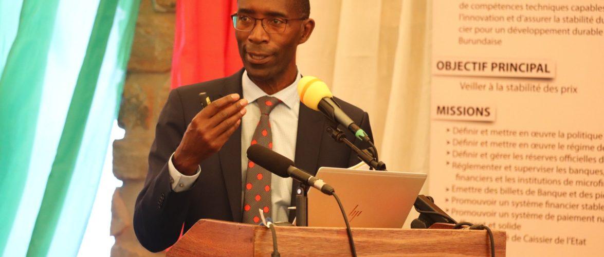 BURUNDI : La BRB organise une Conférence sur la problématique SOCIO-ECONOMIQUE