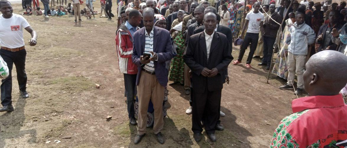 BURUNDI : Le CNDD-FDD en colline MUSIMBWE reçoit 118 ex – CNL / MWARO