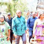 BURUNDI - JOURNEE DE LA SOLIDARITE LOCALE 2021 : Le Chef d'Etat chez lui à MUSAMA, GIHETA / GITEGA