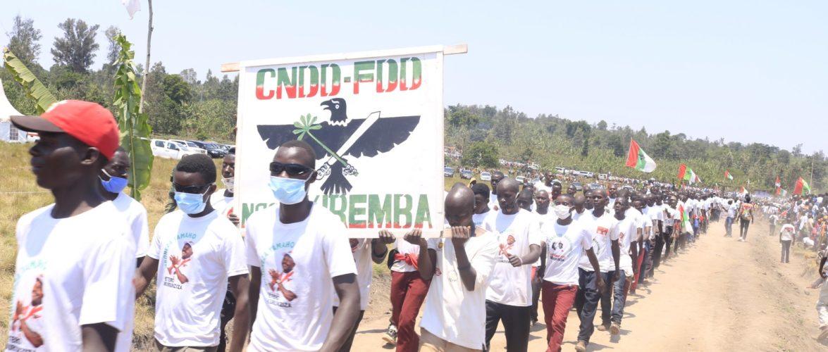 BURUNDI : Célébration de L' IMBONERAKURE DAY 2021 à MUYINGA