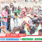 BURUNDI / FETE COMMUNALE 2021 : Commune MATONGO à KAYANZA