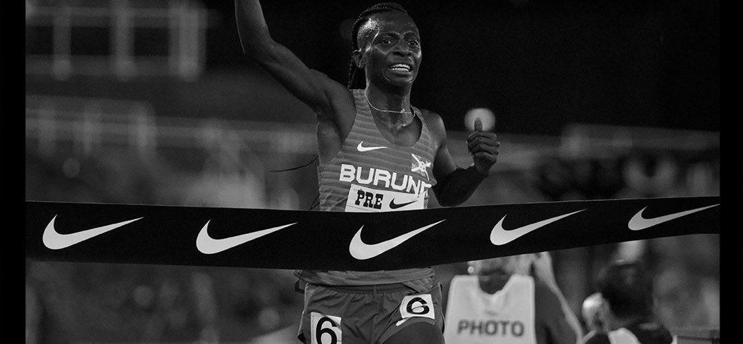 BURUNDI : Victoire de NIYONSABA Francine – 2ème record du monde au 2 Miles Féminin