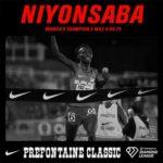 BURUNDI : Victoire de NIYONSABA Francine - 2ème record du monde au 2 Miles Féminin