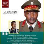 Le BURUNDI se souvient de Feu le MUTABAZI Lieutenant–Général NSHIMIRIMANA Adolphe