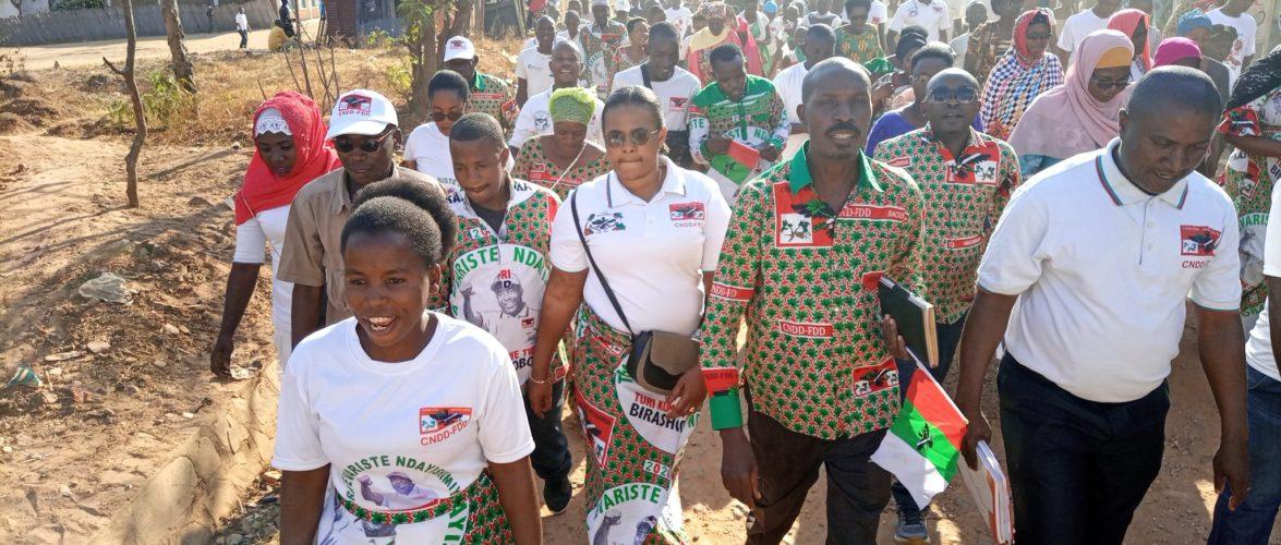 BURUNDI : Le CNDD-FDD RUMONGE organise une activité à MUGOMERE