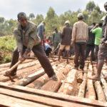 BURUNDI : TRAVAUX DE DEVELOPPEMENT COMMUNAUTAIRE - Réhabiliter un pont détruit sur la rivière KAYOKWE / NGOZI