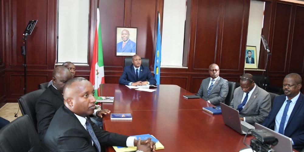 Le Vice-Président Burundais participe au Sommet virtuel des Nations Unies sur les Systèmes Alimentaires