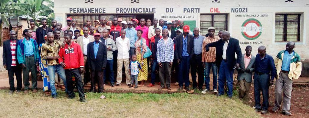 BURUNDI : Le CNL NGOZI parle projets socio-économiques à venir
