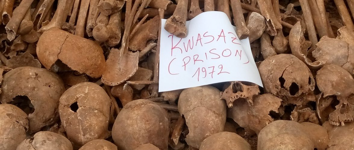 GENOCIDE CONTRE LES BAHUTU DU BURUNDI DE 1972 : 1.066 corps exhumés de 10 fosses communes à MURAMVYA
