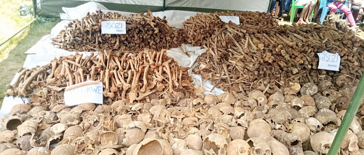 GENOCIDE CONTRE LES BAHUTU DU BURUNDI DE 1972 :  1.098 corps exhumés de 17 fosses communes à MWARO
