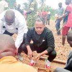 BURUNDI : TRAVAUX DE DEVELOPPEMENT COMMUNAUTAIRE - Préparer une pépinière de CASSIA SIAMEA sur la rivière RWABA à KABONDO / MAKAMBA