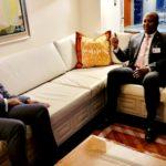 BURUNDI / UNGA 2021 : Rencontre avec le Ministre des Affaires Etrangères de la RDC