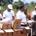 BURUNDI : Distribution de matériels scolaires aux familles paupérisées de BUTEZI / RUYIGI