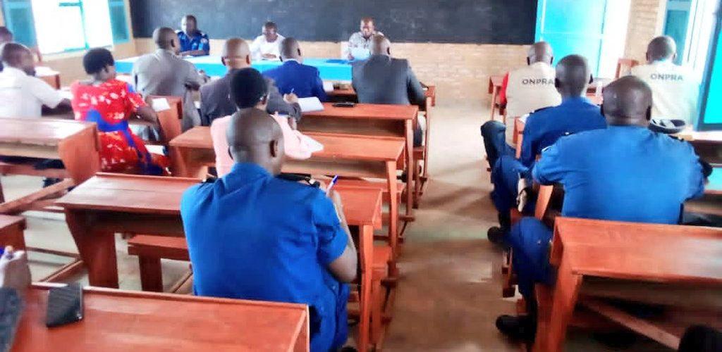 BURUNDI : Réunion sur la sécurité locale à CANKUZO
