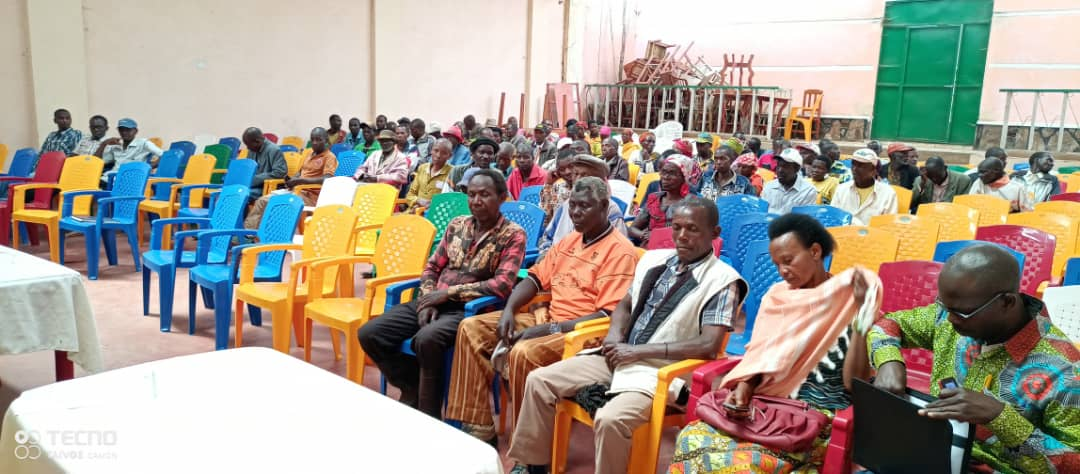BURUNDI : CIAP introduit une nouvelle variété de riz à GIHETA / GITEGA