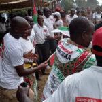 BURUNDI :  Le CNDD-FDD MUHUTA reçoit 71 ex-CNL / RUMONGE