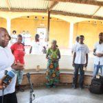 BURUNDI : 10 personnes convalescentes libérées du CNK et de l'Hôpital Prince Régent Charles / BUJUMBURA