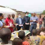 BURUNDI : Remise d'un don de kits scolaires à MUHA / BUJUMBURA