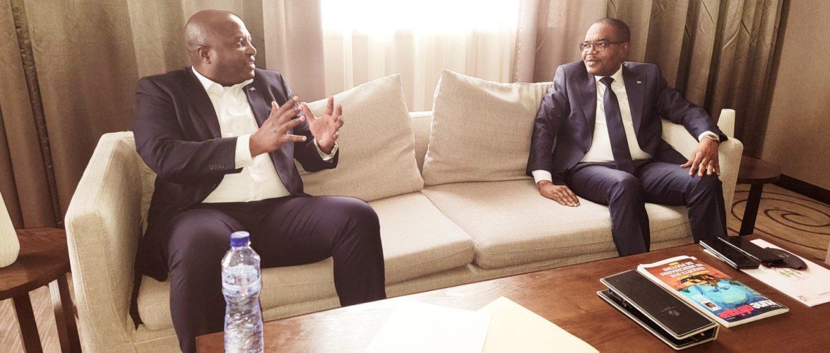 BURUNDI / RDC CONGO : Rencontre agréable avec le gouverneur du SUD KIVU à KINSHASA