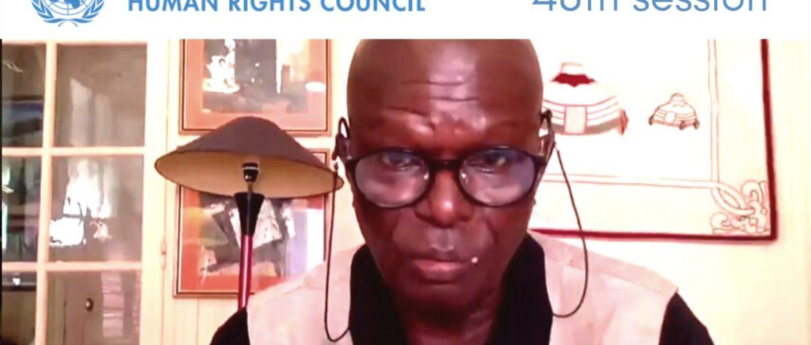 BURUNDI / GUERRE HUMANITAIRE : Qui pousse DOUDOU Diene au UNHRC  ?