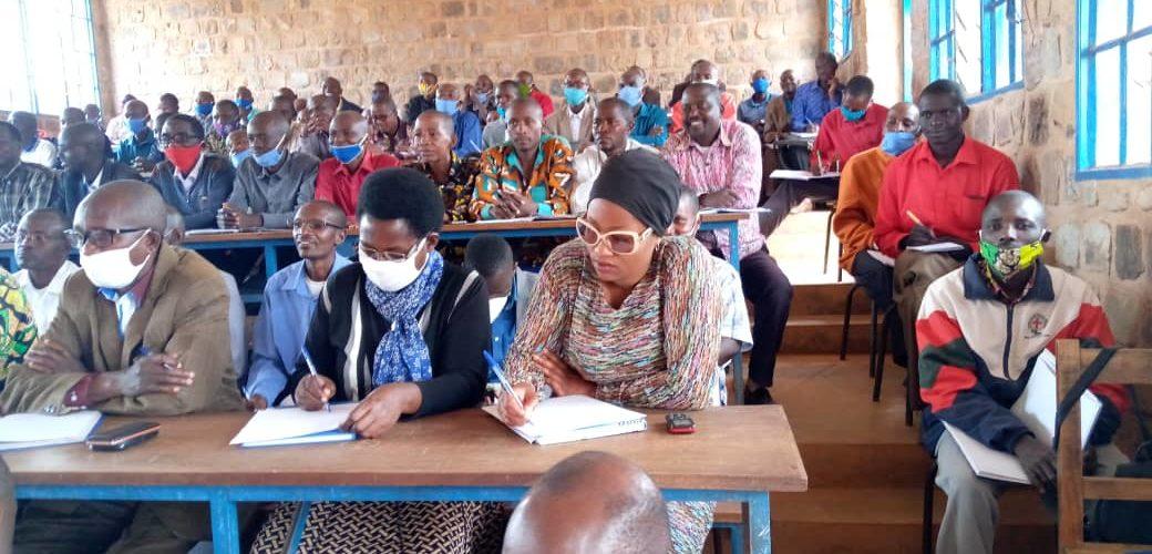 BURUNDI : Réunion autour de la politique éducative à GISURU / RUYIGI