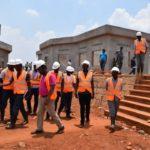 BURUNDI : Le chantier du CENTRE REGIONAL D'APPRENTISSAGE MULTIDISCIPLINAIRE de RUSI à SHOMBO / KARUSI