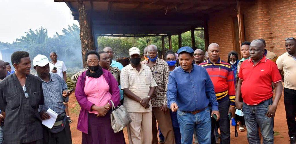 BURUNDI : Les multiplicateurs de semences de MUGAMBA et RUTOVU / BURURI