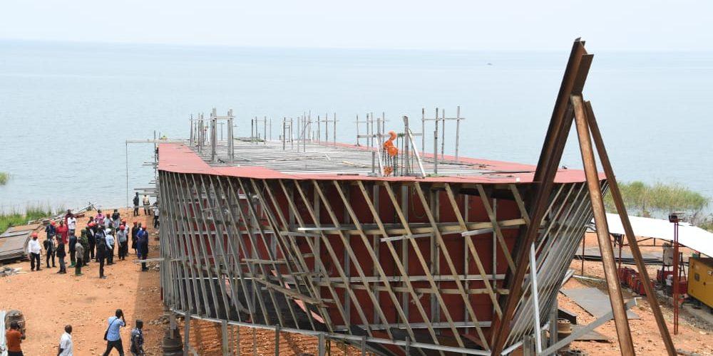 BURUNDI : Visite d'un chantier naval à KABEZI / BUJUMBURA