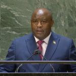 BURUNDI : Discours du chef d'Etat NDAYISHIMIYE à la 76ème session de l'AG ONU