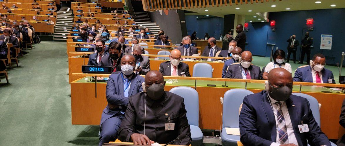 BURUNDI : Le Chef d'Etat à la 76ème session de l'Assemblée Générale de l'ONU