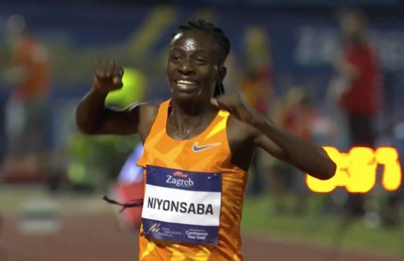 BURUNDI : NIYONSABA Francine bat le record du monde du 2000 mF en 5:21,56 au Meeting de ZAGREB