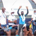 BURUNDI : Retour triomphal de la reine du 2.000 mF - Niyonsaba Francine, Burundaise