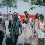 BURUNDI : L' artiste kényan OTILEBROWN arrivé à l'Aéroport International NDADAYE Melchior / BUJUMBURA