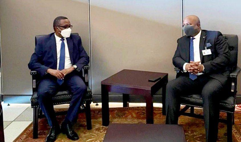 BURUNDI / UNGA76 2021 : SHINGIRO rencontre BIRUTA du RWANDA