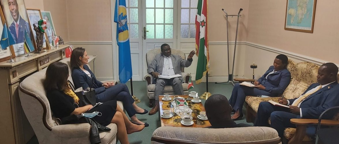BURUNDI / UE : Le SEAE venu échanger à l'Ambassade de Bruxelles