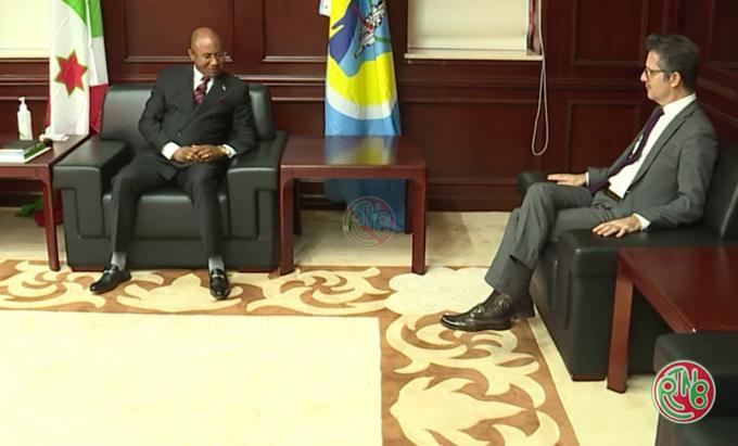 L'Ambassadeur Stéphane Gruenberg exprime la disponibilité de la France à appuyer le Burundi