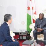 Le Président de la République reçoit en audience l'ambassadeur du Japon au Burundi