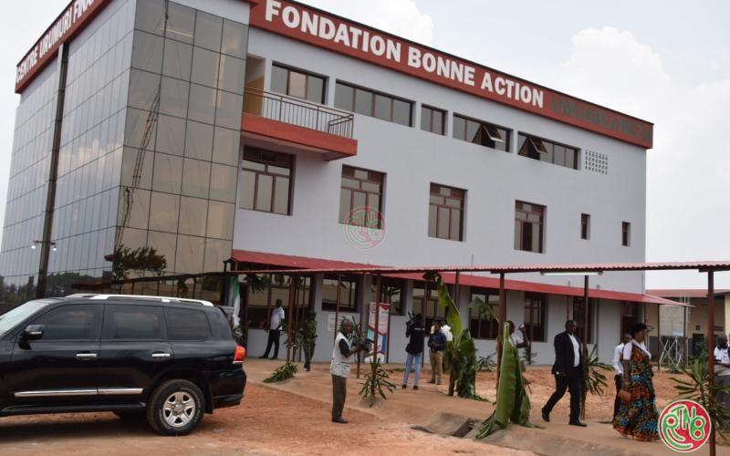 Gitega: inauguration du bâtiment du centre Urumuri qui traite les fistules obstétricale