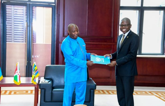 Le Président Ndayishimiye a reçu le nouveau coordonnateur Résident du système des Nations Unies au Burundi
