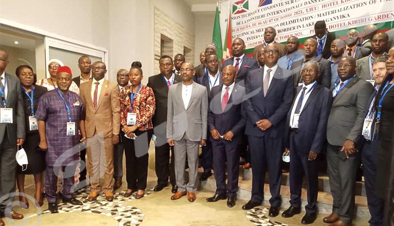 Lac Tanganyika : vers la digitalisation de la frontière internationale